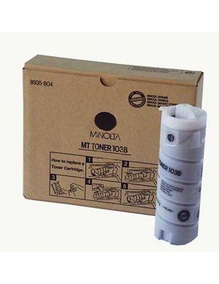 Pack tóner para Konica Minolta MT103B Negro 8935-8040 (4 Unid) No original para EP1030 EP1031