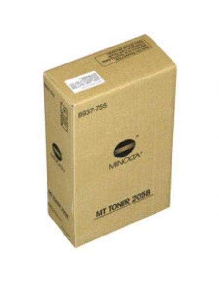 Pack tóner para Konica Minolta MT205B Negro 8937-755 (2 Unid) No original DI2010 2510