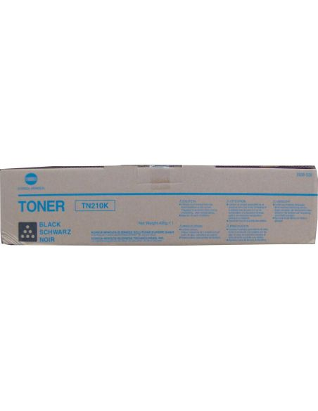 Tóner Konica Minolta TN210K Negro 8938509 para Bizhub C250 C252