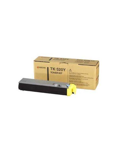 Tóner Kyocera TK-520Y Amarillo (4000 Pag) para FS-C5015