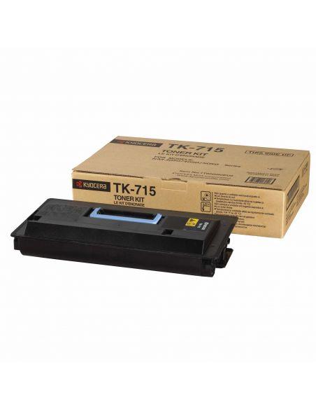 Tóner Kyocera TK-715K Negro (34000 Pag) para KM-3050 4050