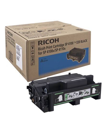Tóner Ricoh 220A Negro 407008 para Aficio SP4100 SP4210