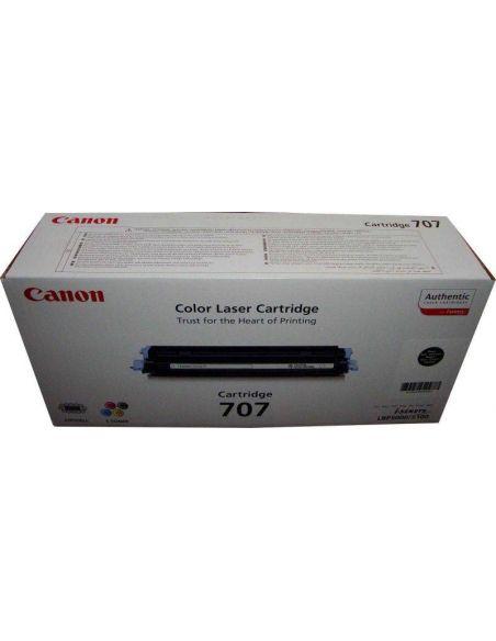 Tóner 9424A004 Canon 707BK Negro para LBP5000 LBP5100
