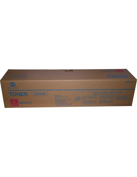 Tóner Konica Minolta TN314M Magenta (20000 Pag) para Bizhub C353 C355