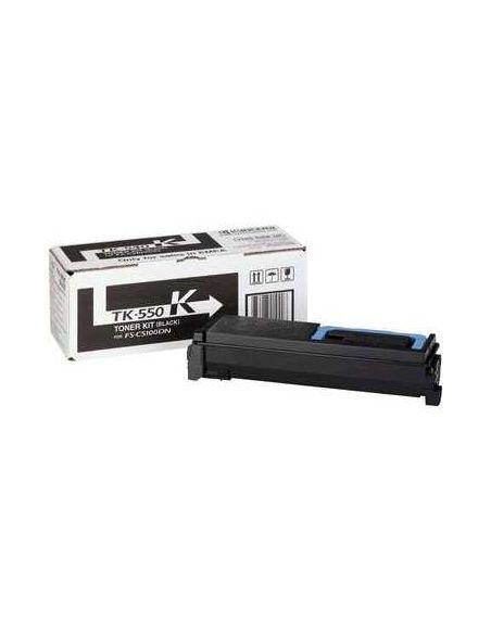 Tóner Kyocera TK550K Negro (7000 Pag) para FSC5200