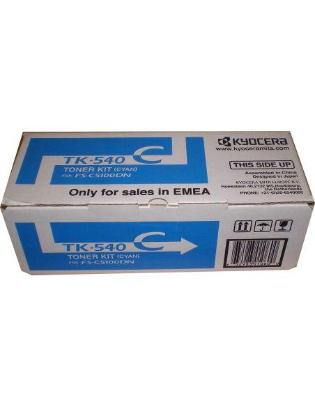 Tóner Kyocera TK540C Cian (4000 Pag) para FSC5100
