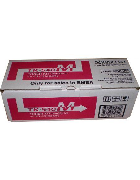 Tóner Kyocera TK540M Magenta (4000 Pag) para FSC5100