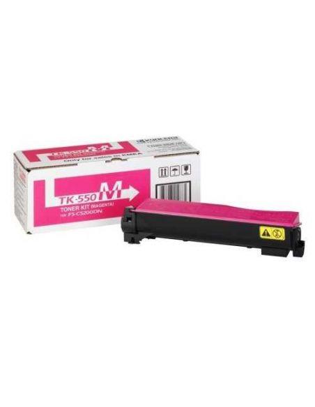 Tóner Kyocera TK550M Magenta (6000 Pag) para FSC5200