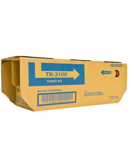 Tóner Kyocera TK3100 Negro (12500 Pag) para M3040 FS2100