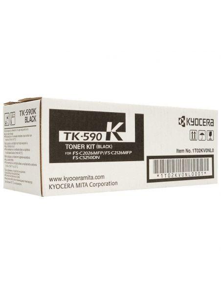 Tóner Kyocera TK-590K Negro 1T02KV0NL0 para M6026 6526