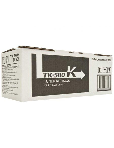 Tóner Kyocera TK-580K Negro (3500 Pag) para P6021 y mas