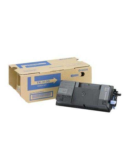 Tóner Kyocera TK3130 Negro (25000 Pag) para M3550 FS4200