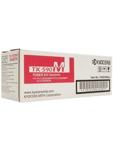 Tóner Kyocera TK590M MAGENTA (5000 Pag) para M6026 y mas