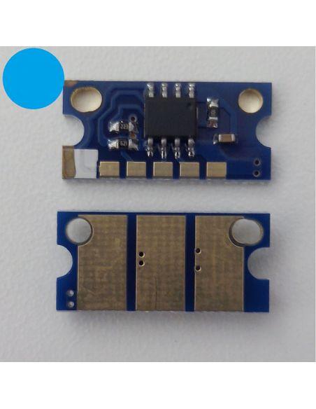 Chip IU211C IU313C para Konica Minolta CIAN
