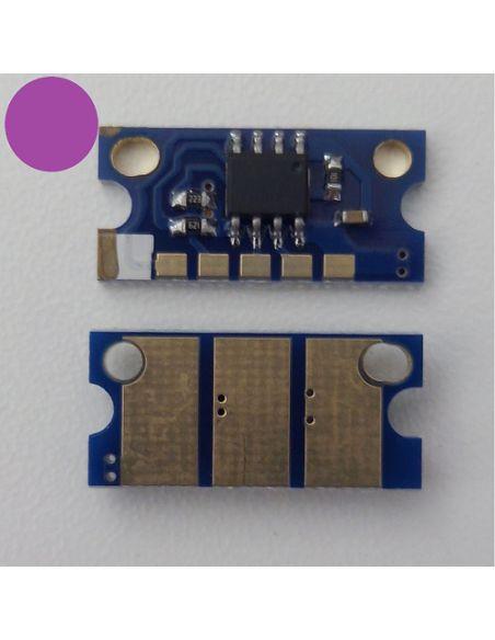 Chip IU211M IU313M para Konica Minolta Magenta