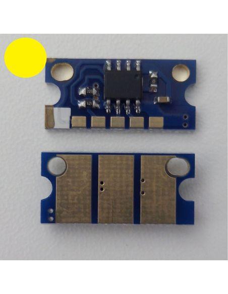 Chip IU211Y IU313Y para Konica Minolta Amarillo