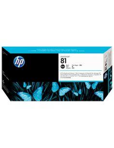 Cabezal y limpiador HP 81 Negro