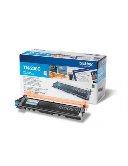 Tóner Brother TN-230C Cian (1400 Pag) para DCP-9010 HL-3040