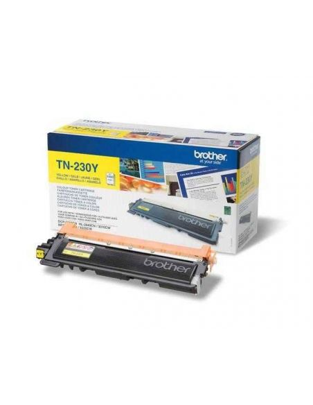 Tóner Brother TN-230Y Amarillo (1400 Pag) para DCP-9010 HL-3040