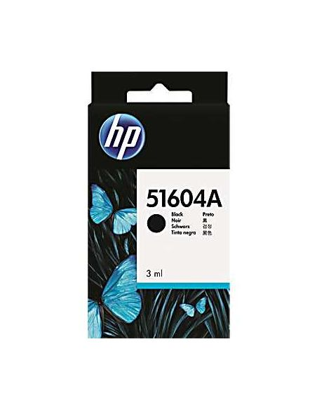 Tinta HP Negro 51604A (3ml)