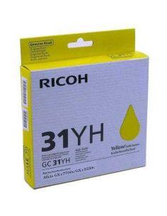 Tinta Ricoh 405704 Amarillo para GXE5550n GXE7700N (GC31YH)(4000 Pág)
