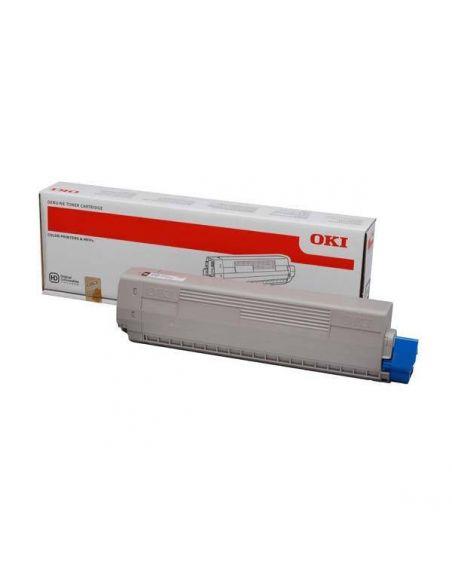 Tóner Oki 44844616 Negro (7000 Pag) para C822