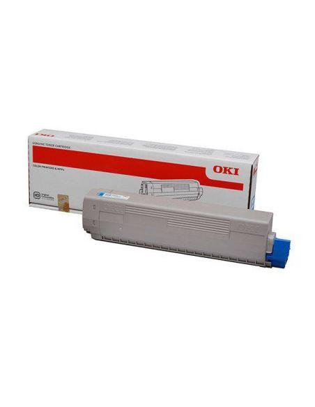 Tóner Oki 44844615 Cian (7300 Pag) para C822