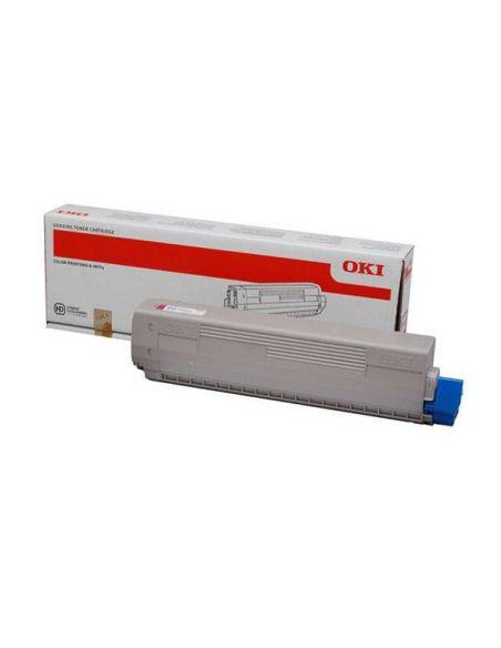 Tóner Oki 44844614 Magenta (7300 Pag) para C822