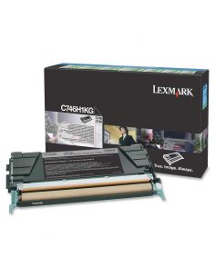 Tóner Lexmark C746H1KG NEGRO (12000 Pág)