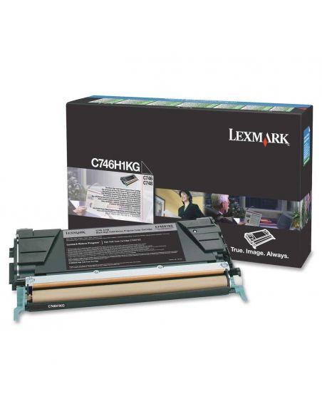 Tóner Lexmark C746H1KG Negro para C746 C748