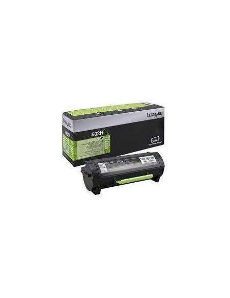 Tóner 60F2H00 Lexmark 602H Negro para MX510 MX611