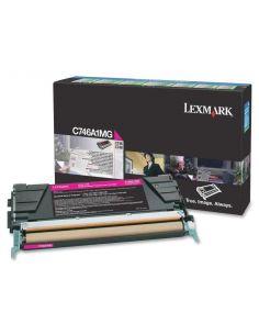 Tóner Lexmark C746A1MG MAGENTA (7000 Pág)