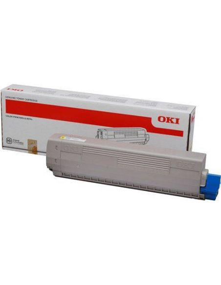 Tóner Oki 44844505 Amarillo (10000 Pag) para C831 C841