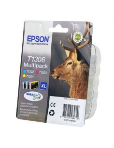 Pack Tinta Epson T1306XL C,M,Y