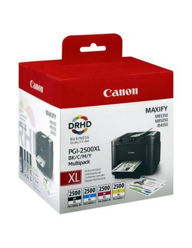 Tinta Pack Canon PGI-2500XL BK/C/M/Y