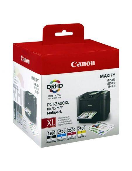 Pack Tinta Canon 2500XL BK,C,M,Y 9254B004 DRHD