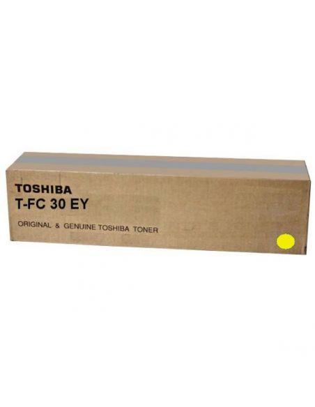 Tóner para Toshiba T-FC30E-Y AMARILLO (33600 Pag) No original para e-Studio 2050 y mas