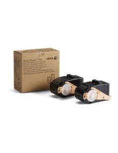 Tóner 106R02605 Xerox Negro (Pack 2 cartuchos) para Phaser 7100