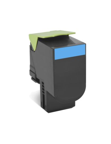 Tóner compatible Lexmark 702HC Cian...