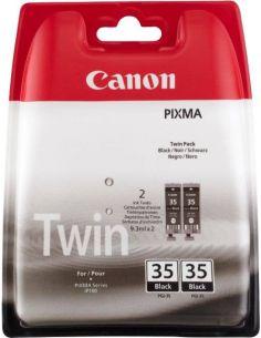 Pack Tinta Canon 35BK Negro 1509B012...