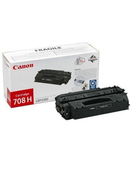 Tóner Canon 708H Negro 0917B002 para LBP3300 LBP3360