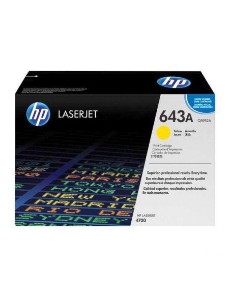 Tóner HP 643A Amarillo Q5952A para Laserjet 4700