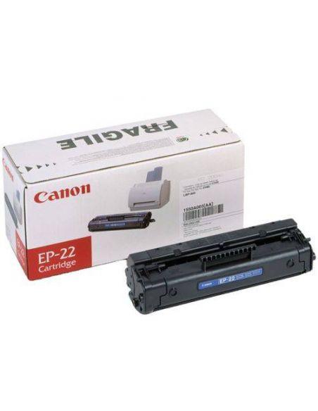 Tóner Canon EP-22 Negro (2500 Pag) para LBP1120 LBP800