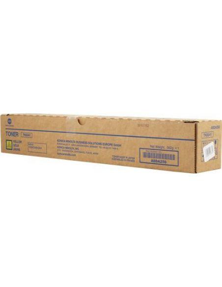 Tóner Konica Minolta TN324Y Amarillo A8DA250 (26000 Pag) para Bizhub C258 C308