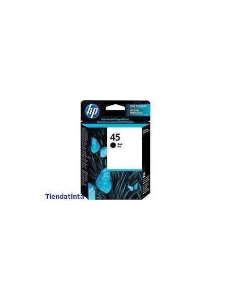 Tinta HP 45 Negro 51645ae (42ml)(930 pág)