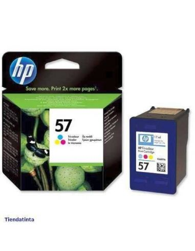 Tinta HP C6657AE Color Nº57 17ml (500 Pag) Original
