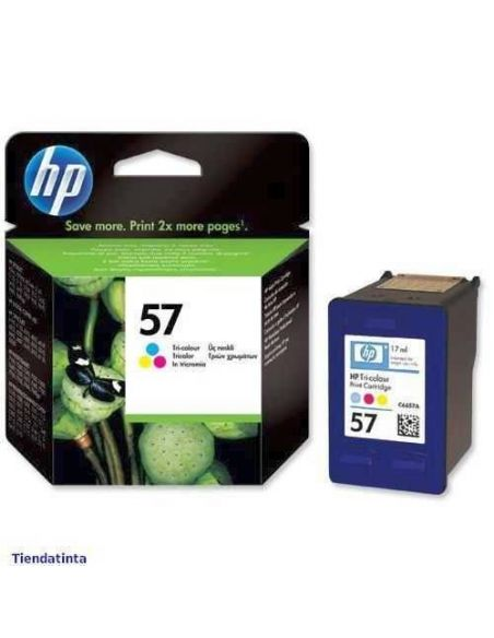 Tinta HP 57 Color c6657ae (17ml)(500 Pág)