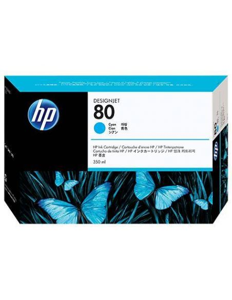 Tinta HP 80 Cian c4846a (350ml)