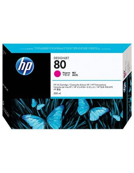 Tinta HP 80 Magenta c4847a (350ml)