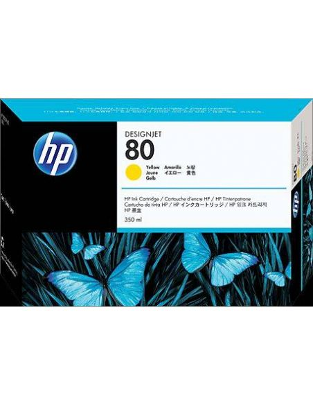 Tinta HP 80 Amarillo c4848a (350ml)